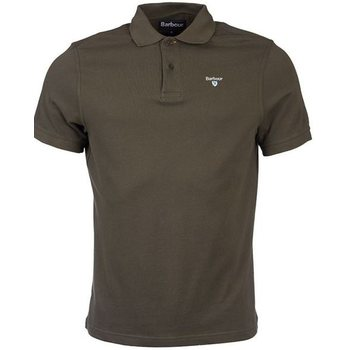 Barbour Sports Polo, Dark Olive, L