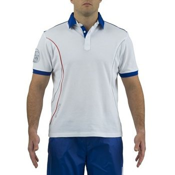 Beretta Uniform Pro Polo, White / Blue Beretta, XL