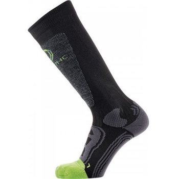 Therm-ic Warmer Ready Junior Socks, Lime, XXS (27/30)
