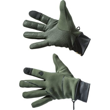 Beretta Polartec Wind Pro Gloves, Green, L