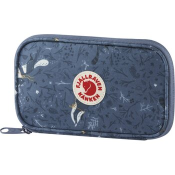 Fjällräven Kånken Art Travel Wallet, Blue Fable (975)