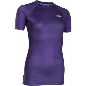 ION Rashguard Women SS, Dark Purple, 34/XS