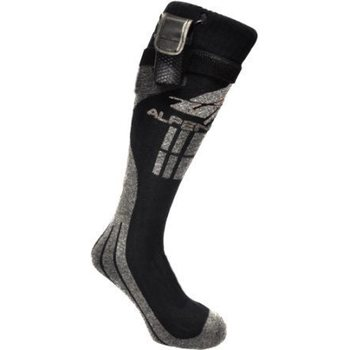 Alpenheat Fire-Socks WOOL, Wool Grey, EU 43-45