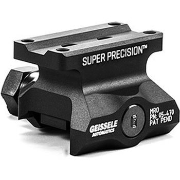 Geissele Super Precision MRO (Lower 1/3 Co-Witness), Optimized for Trijicon MRO  - Black