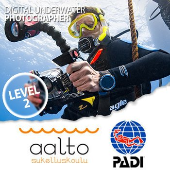 PADI Digital Underwater Photographer - level 2