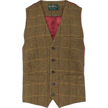 Alan Paine Surrey Men's Tweed Dress Waistcoat - Classic Fit