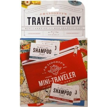 J.R. Liggett Mini Traveler Pack - w/4 Mini Shampoo Bars