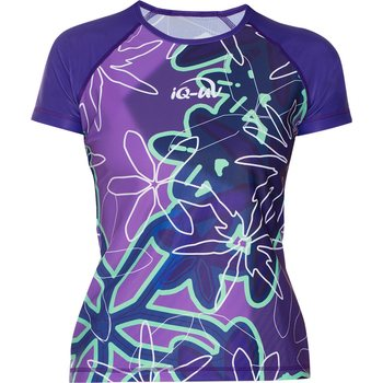 IQ UV T-Shirt Flower Women