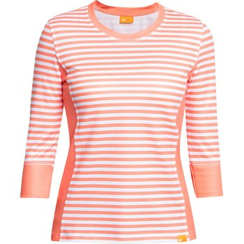 IQ UV T-Shirt Stripes Women Casual & Outdoor