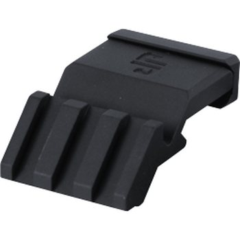 JP Rifles Rail Offset Adapter, Quick Detach 45° on Bore Axis, 1.25
