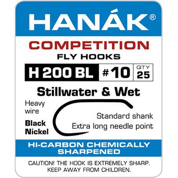 Hanak Competition H200BL Stillwater & Wet Fly, 25 kpl