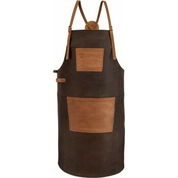 Petromax Buffalo Leather Apron with cross back straps
