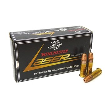 Winchester .22LR Laser Hollow Point 2,40g / 37,5grs 50kpl