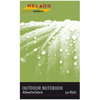 Outdoor Notebook 13,5cmx7,7cm