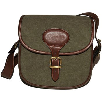 Maremmano Canvas and Leather Bag (R801)