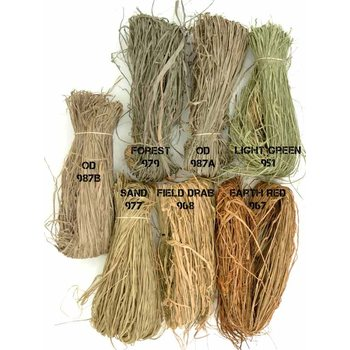 Tactical Concealment Colored Stalk Grass Bundle