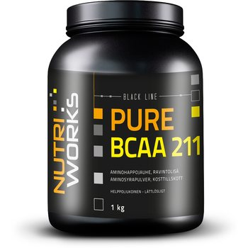 Nutri Works Black Line Pure BCAA 211, 1 kg