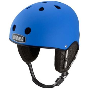 Nutcase Atlantic Blue Matte Snow Helmet, S-M (53-57)