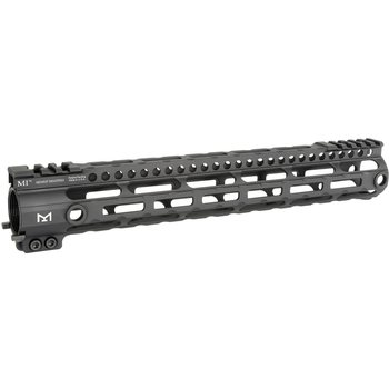 Midwest Industries Lightweight One Piece Free Float Handguard, M-LOK™ compatible - Black