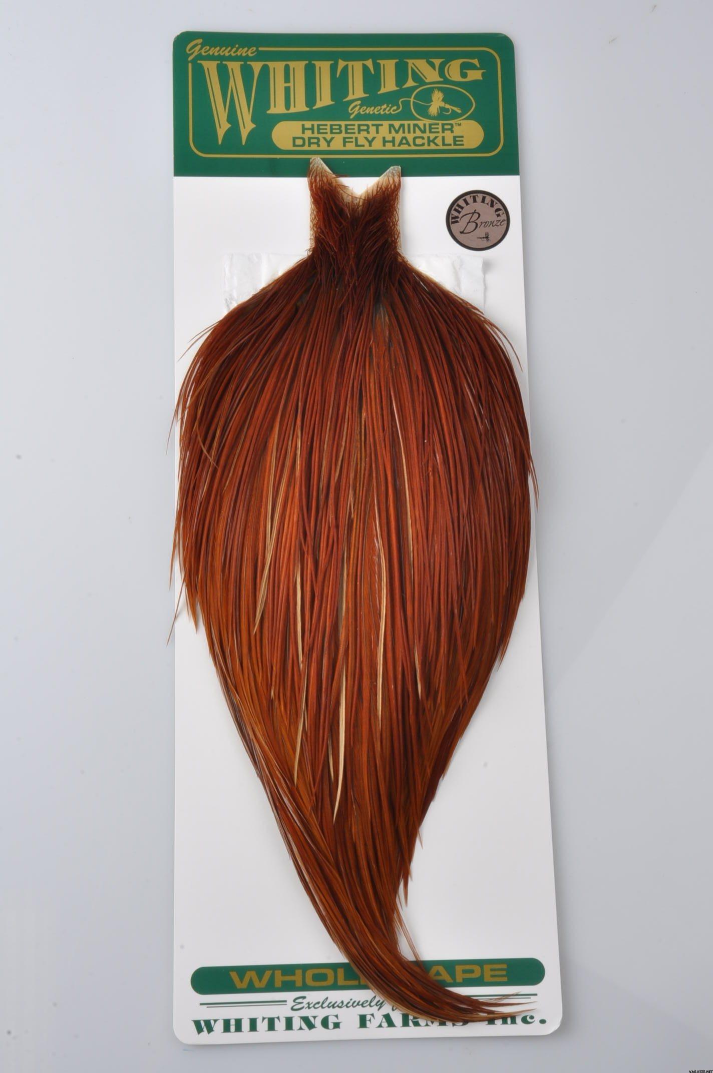 Whiting Hebert-Miner Bronze Cock Cape
