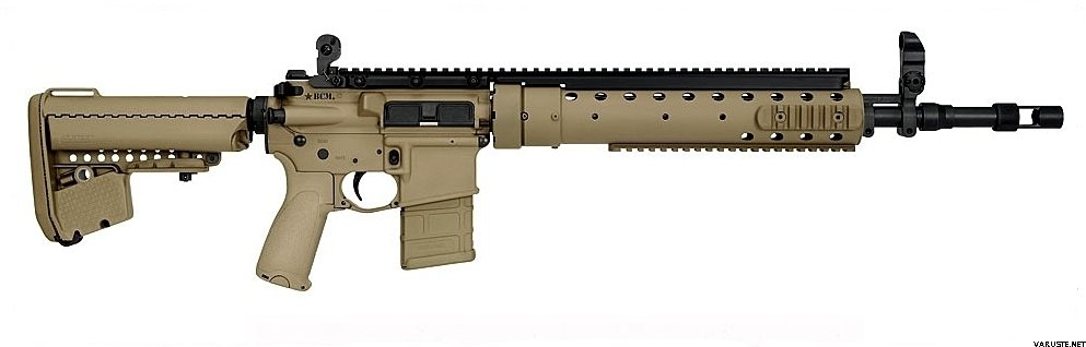 Bcm Mk12 Mod0 A5 Precision Rifle Flat Dark Earth Bcm Rifles